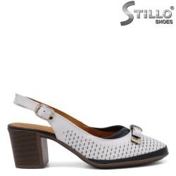 Pantofi dama de vara cu toc  - 33019