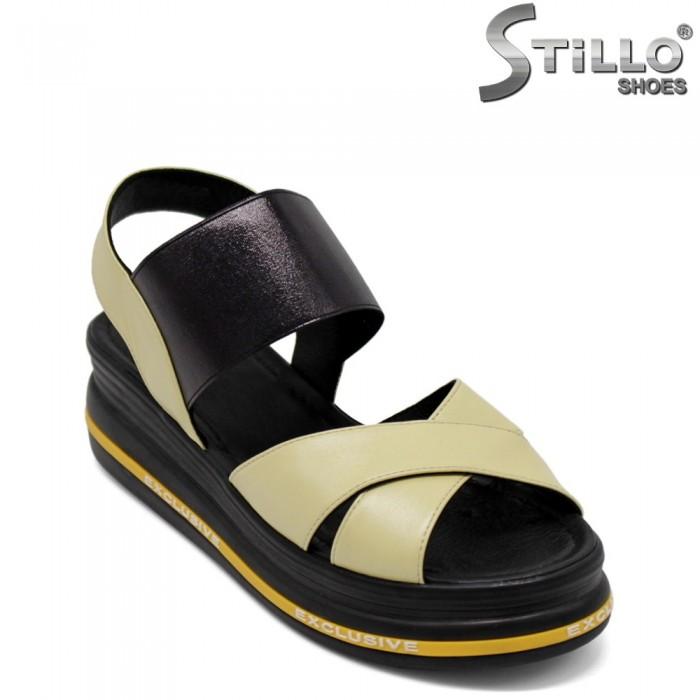 Sandale dama pe platforma - 33022
