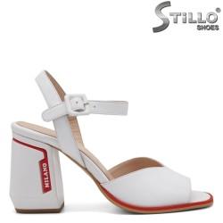 Sandale dama moderne cu toc gros - 33026