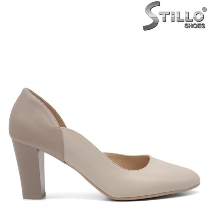 Pantofi asimetrici de damă pe toc - 33028