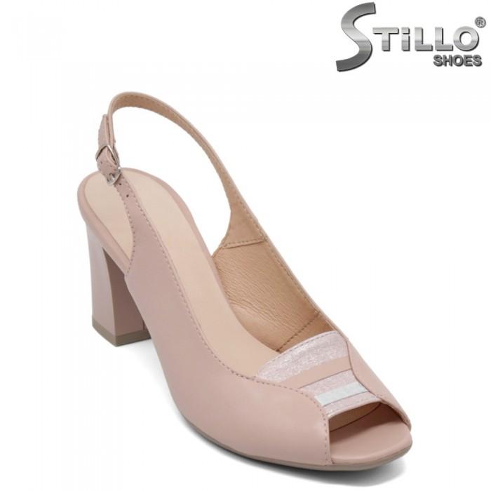 Sandale dama cu toc inalt - 33029