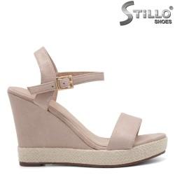 Sandale dama cu platforma inalta  - 33030