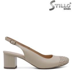 Pantofi dama de vara cu toc - 33034