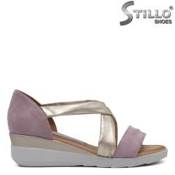 Sandale dama cu platforma mijlocie - 33039