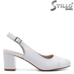 Pantofi de damă cu spatele deschis - 33068