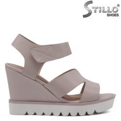 Sandale dama pe platforma marimi mici 33, 34, 35 - 33101