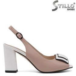 Sandale dama cu toc inalt - 33115
