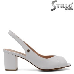 Sandale dama cu toc mijlociu - 33118