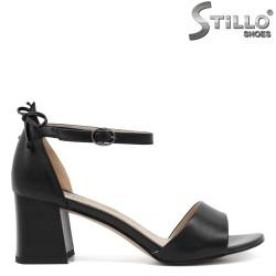 Sandale dama elegante cu toc mijlociu - 33140