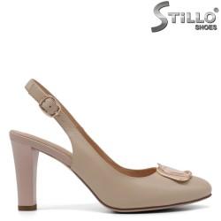 Pantofi dama din piele naturala - 33144