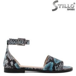 Sandale dama cu imprimare tip sarpe - 33173