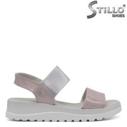 Sandale dama  de culoare roz deschis - 33188