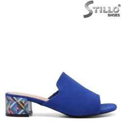Saboti dama de culoare albastru - 33198