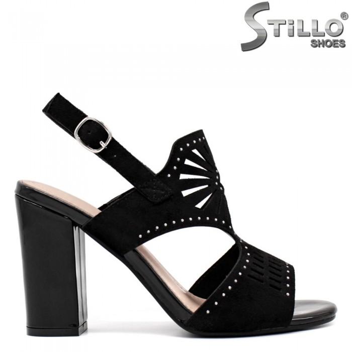 Sandale dama elegante de culoare negru - 33199