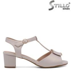 Sandale dama de culoare bej - 33201