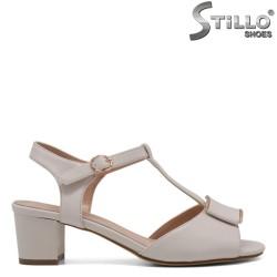 Sandale dama elegante de culoare bej - 33204