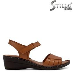 Sandale dama din velur ecologic  - 33220