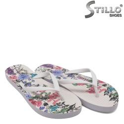 Papuci dama cu talpa florala - 33226