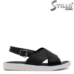 Sandale dama casual  de culoare negru - 33235