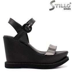 Sandale dama cu platforma inalta - 33240