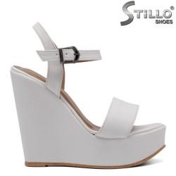 Sandale dama cu platforma inalta - 33255