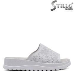 Papuci dama cu imprimanta florala - 33258