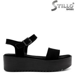 Sandale dama pe platforma  - 33264