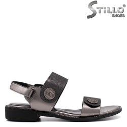 Sandale dama de culoare bronz - 33270