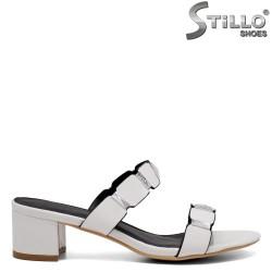 Papuci dama cu toc mijlociu - 33295