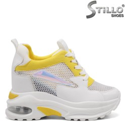 Pantofi dama tip sport pe platforma  - 33309