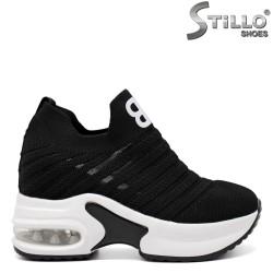 Pantofi dama tip sport pe platforma - 33312