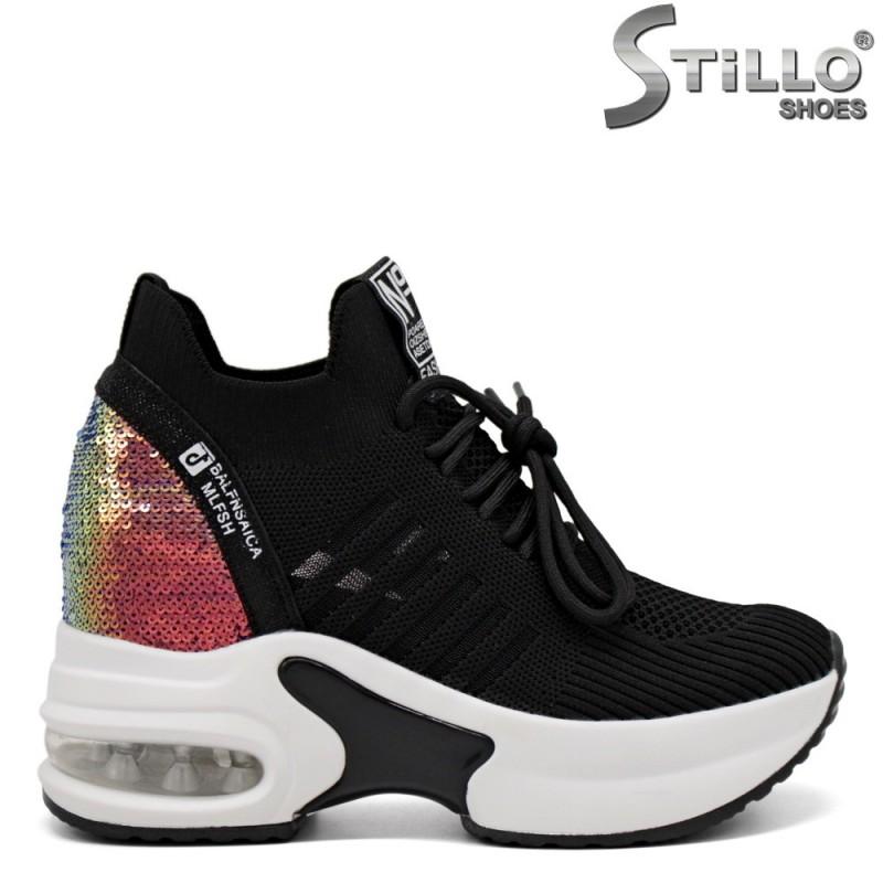Pantofi dama tip sport pe platforma - 33313