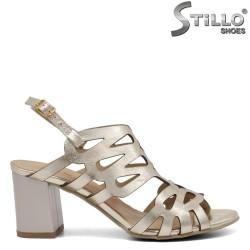 Sandale dama cu toc mijlociu - 33318