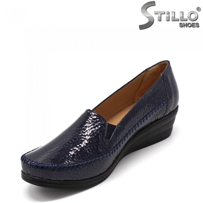 Pantofi dama de culoare albastru inchis - 33361