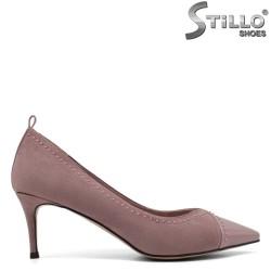 Pantofi dama cu toc subtire - 33363