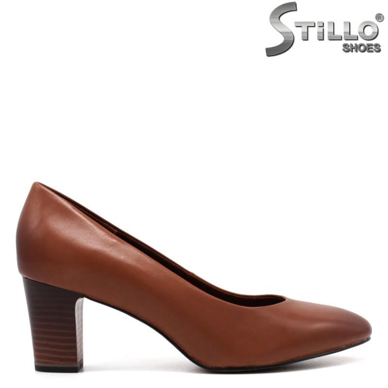 Pantofi dama model Tamaris cu toc mijlociu - 33377