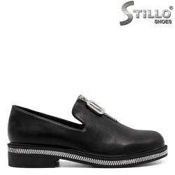 Pantofi dama cu fermoar in partea de jos - 33404