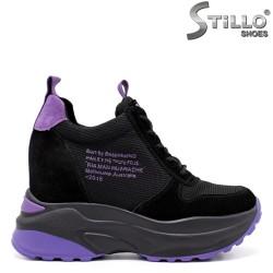 Pantofi dama sport cu talpa groasa si cu platforma ascunsa - 33416