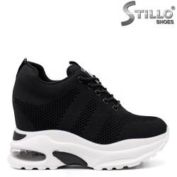 Pantofi dama sport cu platforma ascunsa- 33426