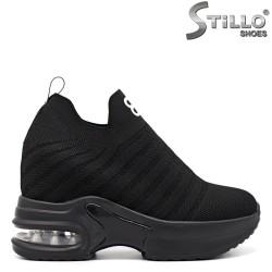 Pantofi dama sport de culoare negru - 33441