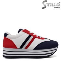 Pantofi dama sport cu talpa groasa - 33483