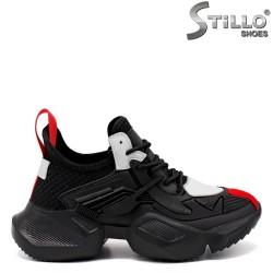 Pantofi dama sport cu talpa groasa - 33515