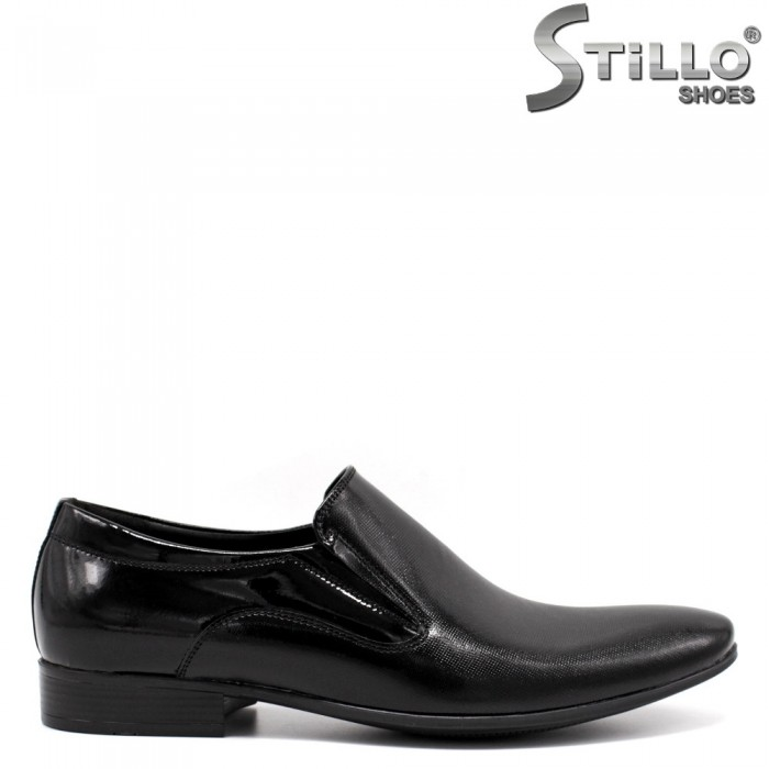 Pantofi barbati de ocazie din piele naturala - 33528