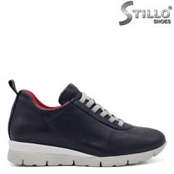 Pantofi dama sport de culoare albastru inchis - 33543