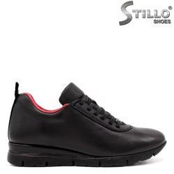 Pantofi dama sport  cu captuseala de culoare rosu - 33545