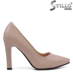 Pantofi dama de culoare bej cu toc inalt numere de la 33,34,35 - 33611