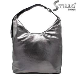 Geanta dama argintie - tip sac - 33822