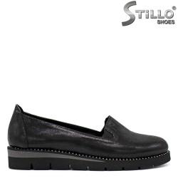 Pantofi dama cu platforma si cu pietricele - 34273