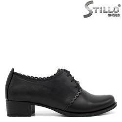 Pantofi dama cu toc jos - 34290