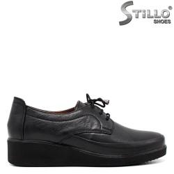 Pantofi dama antomici din piele naturala - 34292